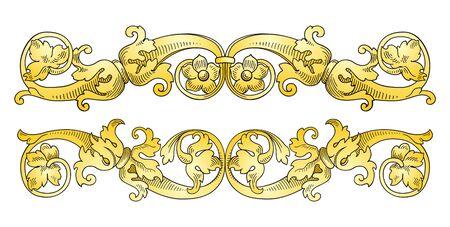 Decoration design elements  Illustration