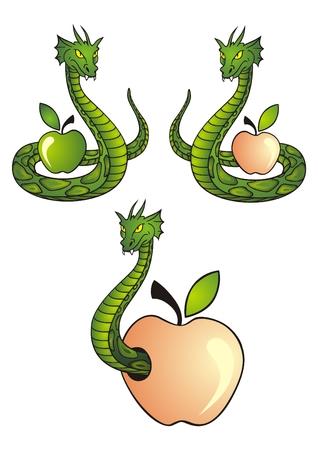 eden: Snace und apple