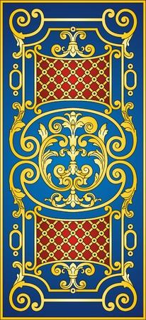 Eastern ornament   Illustration