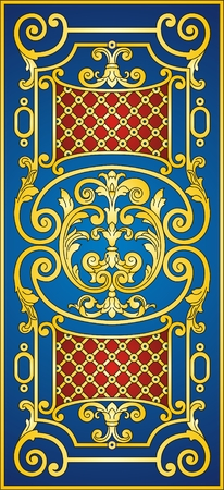 eastern: Eastern ornament   Illustration