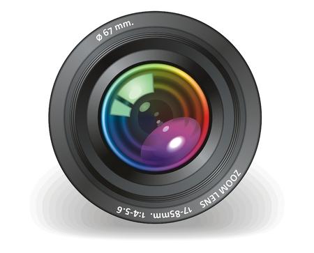 Objetivo de la cámara