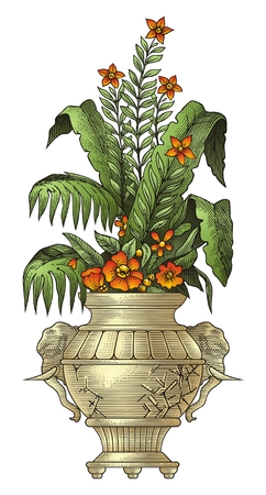 antique vase: Vase   Illustration