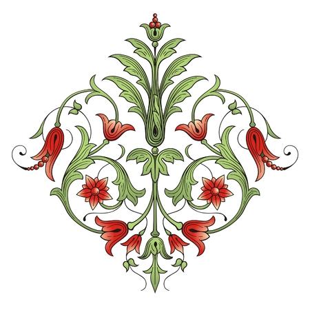 filigree: Floral designelementen