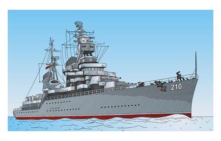 Ship   Stock Vector - 8140070