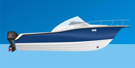 motor launch: Boat