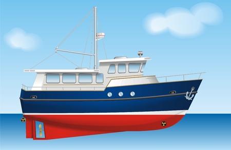 boat motor: Boat