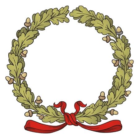 oaks: Oak Wreath