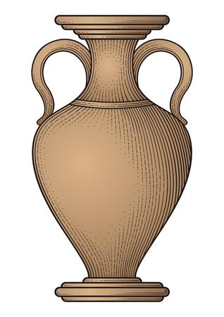 antique vase: Antique amphora