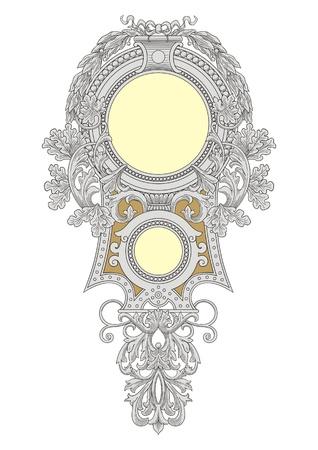 Royal Frame  Illustration