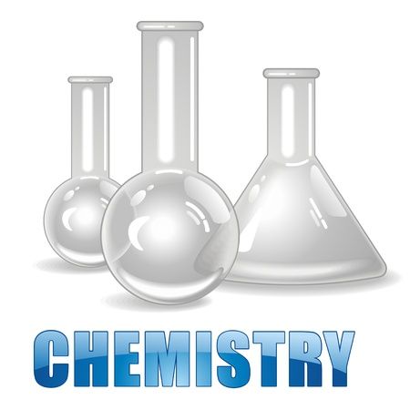 Chemical Bottles  Vector