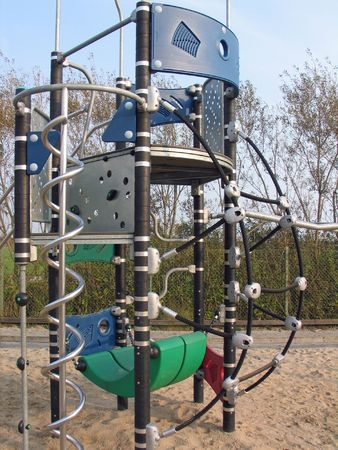 Newly and modern design playground equipment photo