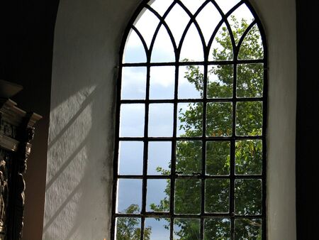 Church window - light comes in
