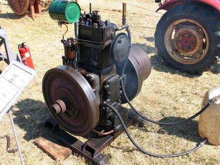 Antique vintage diesel engine Stock Photo - 2684036