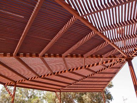 Classical design big pergola arbor made wood