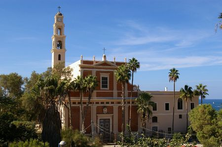 St. Peters Church in the old city of Jaffa in Tel Aviv Israel Stock Photo - 6676782