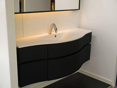 Details of a modern trendy contemporary designer bathroom Stock Photo - 7869203