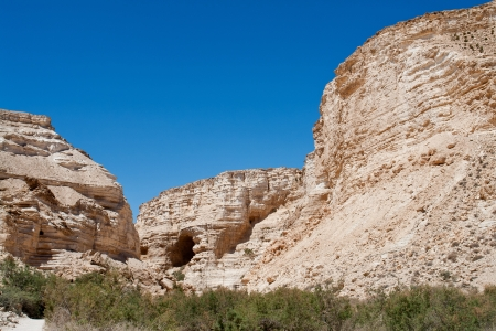 negev: Canyon with beautiful rocks formations Negev desert in Israel
