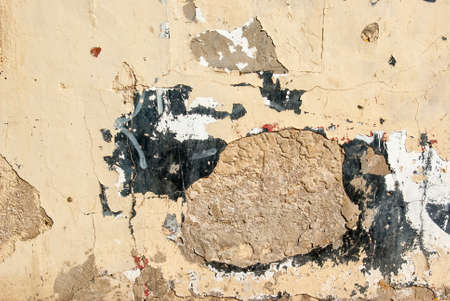 bad color: Grunge wall of an old house - Textured background