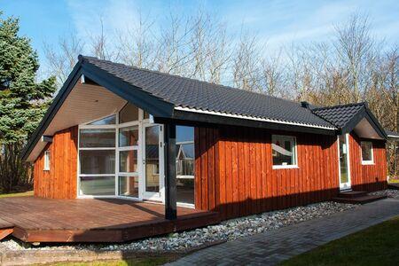 natureal: Stile moderno progettato privato legno natureal un'occhiata casa estiva