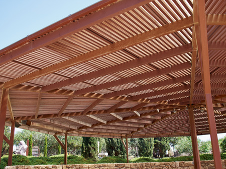 Classical design big pergola arbor made wood