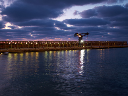 tourist attraction: The old port of Tel Aviv Israel tourist attraction restored dining and commercial area