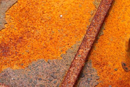 deteriorating: Iron metal surface rust great background and texture image Stock Photo