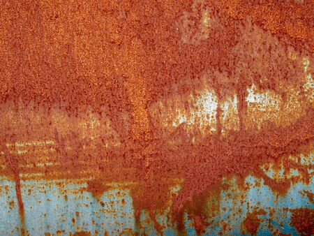 deteriorate: Iron metal surface rust great background and texture image Stock Photo
