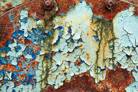 Iron metal surface rust great background and texture image Imagens