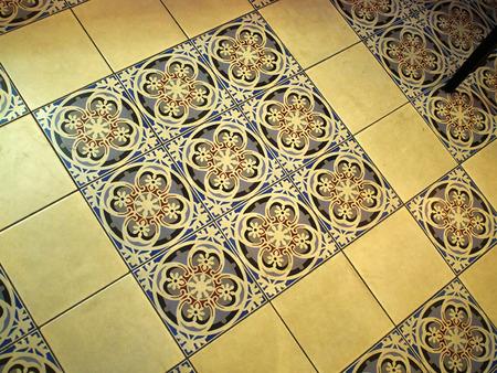 Traditionele handgemaakte kleurrijke Marokkaanse Arabische stijl vloertegels
