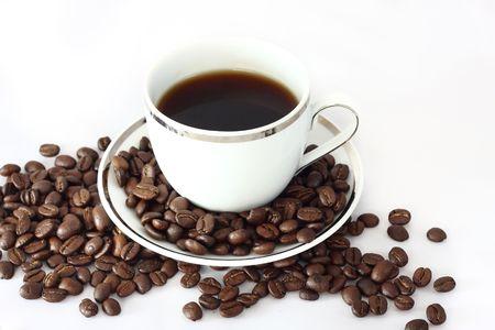 Black caffe Stock Photo