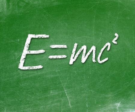 Energy formula Stock Photo - 19056528