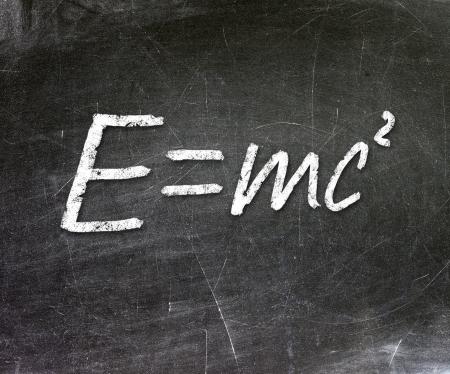 Energy formula Stock Photo - 19056564