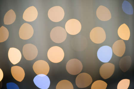 Blurry background circles - christmas lights background  Stock Photo