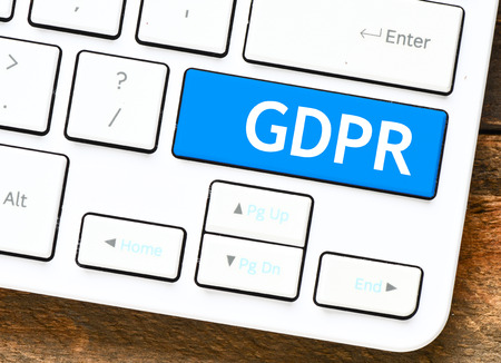 General Data Protection Regulation (GDPR) Stock fotó