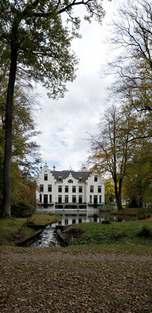Staverden, Castle in the Netherlands Editorial