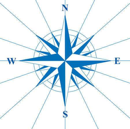 north star: This image is a vector illustration and can be scaled to any size without loss of resolution.