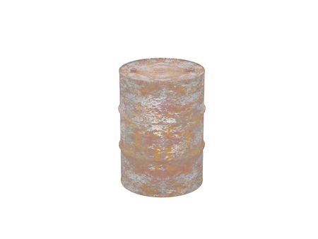 High resolution image barrel. 3d illustration over  white backgrounds. Stock Illustration - 3041187