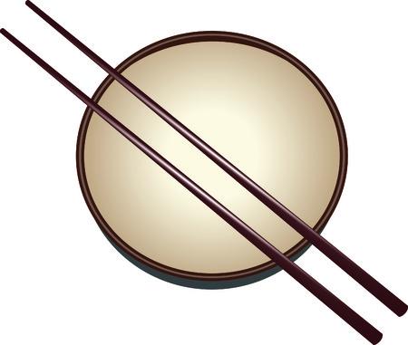 日本料理: このイメージは、ベクター グラフィックと解像度の損失なしに任意のサイズに縮小することができます。