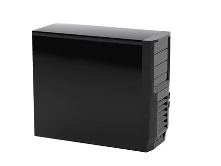 high resolution: High resolution image computer. 3d illustration over  white backgrounds.