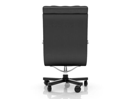 High resolution image office armchair. 3d illustration over  white backgrounds. Stock Illustration - 4363005