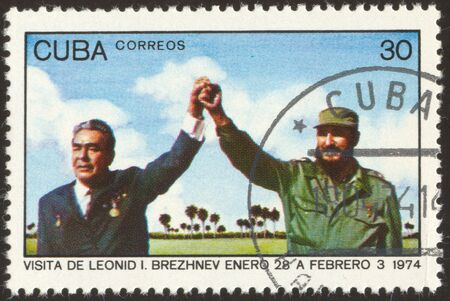 soviet union: Leonid Ilyich Brezhnev was General Secretary of the Communist Party of the Soviet Union. Fidel Alejandro Castro Ruz is a Cuban politician.