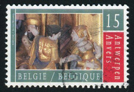 BELGIUM - CIRCA 1993: Antwerp Cultural City of Europe, circa 1993. Stock Photo
