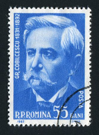 paleontologist: ROMANIA - CIRCA 1962: Gregory Cobalcescu  was a Romanian geologist and paleontologist, circa 1962. Editorial