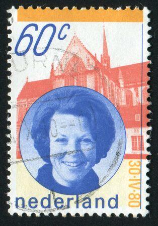 beatrix: NETHERLANDS - CIRCA 1980: Queen Beatrix, Palace, circa 1980.