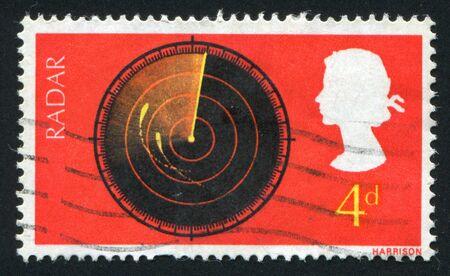 GREAT BRITAIN - CIRCA 1967: British Discoveries: Radar screen, circa 1967. photo
