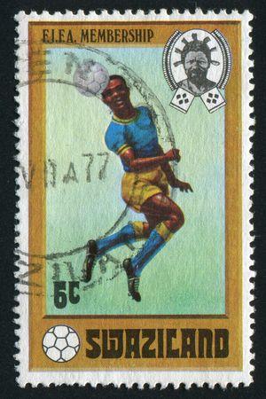 SWAZILAND - CIRCA 1976:  21st Olimpic Games, Montreal, Canada, circa 1976. Stock Photo - 6238490