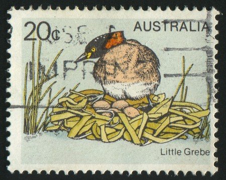 AUSTRALIA - CIRCA 1993: stamp printed by Australia, shows old auto, circa 1993. photo