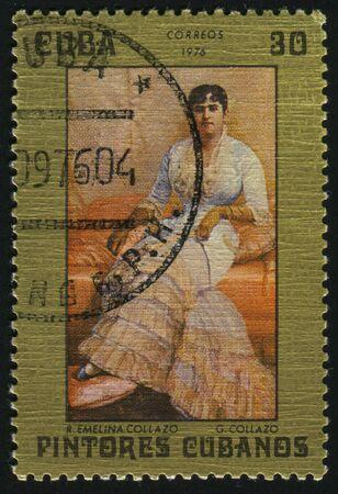 CUBA - CIRCA 1976:  Emelina Collazo by Jean Dabour, circa 1976.