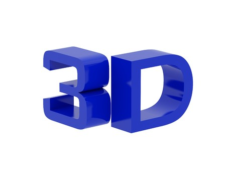 symbol 3d plasma tv. Computer generated 3D photo rendering. Stock Photo
