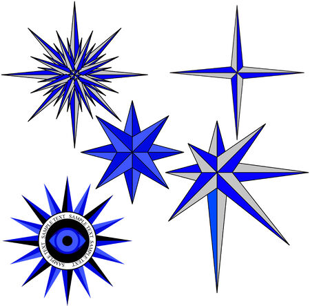 nautical star: This image is a vector illustration and can be scaled to any size without loss of resolution.